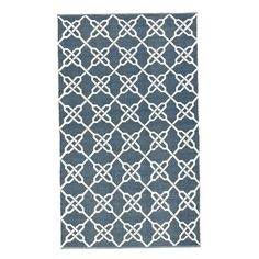 I pinned this Ink Indoor/Outdoor 5' x 8' Rug from the Fashion+Decor event at Joss and Main!