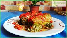 Paradicsomos töltött kel - Jó étvágyat az egészséghez! Ale, Spaghetti, Meat, Ethnic Recipes, Food, Ale Beer, Essen, Meals, Yemek