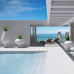 21 Best Swimming Pool Designs [Beautiful, Cool, and Modern] 35 Lovely Contemporary Swimming Pool Design Ideas Swimming pool design ideas Cool Swimming Pools, Swimming Pools Backyard, Swimming Pool Designs, Lap Pools, Pool Fun, Indoor Pools, Pool Landscaping, Outdoor Spaces, Outdoor Living