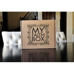 My Faith Box.  I have one and want another...these are really awesome...tracks a child's faith journey.