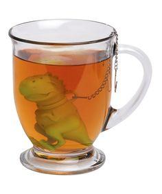 Green Tea Rex Tea Infuser