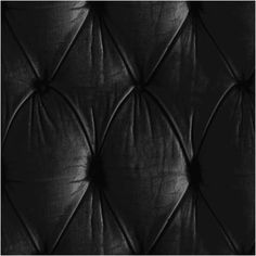Mineheart - Chesterfield Button Back Wallpaper Black ($199) ❤ liked on Polyvore featuring home, home decor, wallpaper, black pattern wallpaper, black textured wallpaper, inspirational wallpaper, temporary wallpaper and inspirational home decor