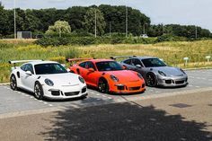 Friday, Saturday, and Sunday Porsche 991 GT3 RS (2015)