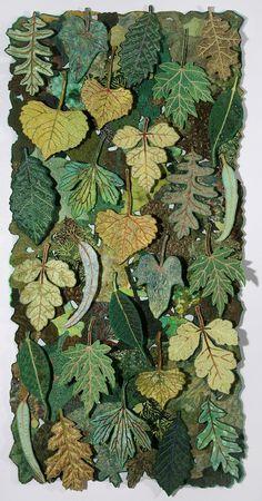 'Leaf Flakes' by Sharon Nemirov