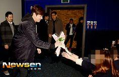 "Lee Min Ho - ""Gangnam Blues"" Stage Greeting MyeongDong - 24.01.2015"