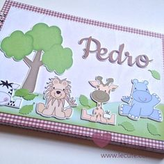 Minhas Lembranças... Criações: Livro do Bebê - Safari