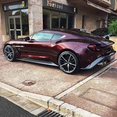 WEBSTA @astonbuzz Vanquish Zagato   Ferrari Dealer =...?  -->FOLLOW @AstonBuzz for More<-- • [©Photo Credits: @Camille.spot98 ] •