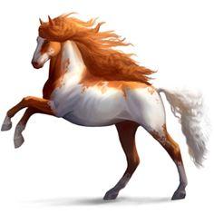 Sᴏᴜʟ Cᴀʟɪʙᴜʀ, Riding Horse Paint Horse Chestnut - Howrse