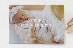 Big announcement Birth Announcement Postcards by S. Holiday Cards, Christmas Cards, Seven Swans, Birth Announcement Photos, Custom Stamps, Personalized Stationery, Birthday Party Invitations, Photo Cards, Your Cards