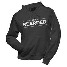 Live Bearded Hoodie