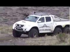 Iceland 6x6 testing - YouTube