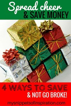 Here are some simple ways to save money on gifts this year! What's your best way to save? #ad #RegionsGreetings