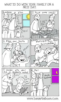 Feel the struggle. | These Parenting Comics Will Make You Have Every Damn Feeling