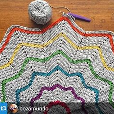 #Repost @cozamundo ・・・Corinne is this week's featured IGer in the #crochet roundup that just went up on the blog today. Give her some love! ... There are more than 200 amazing photos contributed this week so pop on over to Crochet Concupiscence for some