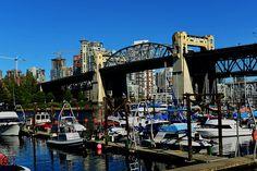 DSC_3811_2_3_4_5_tonemapped marina near Burrard Bridge vancouver BC canada