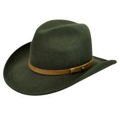 Men's Wind River by Bailey Goldfield Cowboy Hat - Remi Green Hats Western Hats, Western Wear, Cowboy Hats, Best Hats For Men, Hat Stores, Green Hats, Boot Shop, Summer Hats, Boots