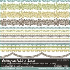 Yesteryear Add-On Lace