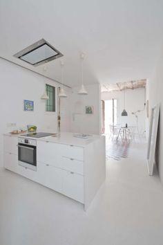 Verbouwing van een karakteristiek appartement uit Barcelona