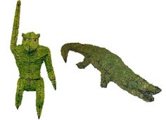 A #topiary menagerie to liven up your #garden. #NewOrleans