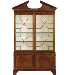 Baker Furniture China Cabinet 2593 Historic