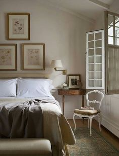 Soft tones for the bedroom