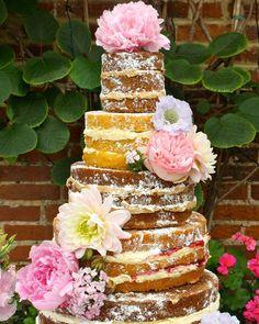 Cake Wrecks - Home Pretty Cakes, Beautiful Cakes, Amazing Cakes, Cake Wrecks, Wedding Cake Prices, Wedding Cakes, Nake Cake, Bolos Naked Cake, Bolo Floral