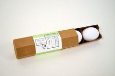 Eggs packaging.