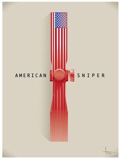 AMERICAN SNIPER 2014 Vector tribute on Wacom Gallery