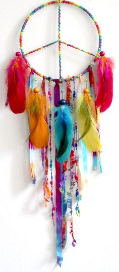 Peaceful Pow Wow Native Woven Dreamcatcher by eenk on Etsy on imgfave