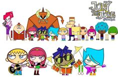 'Juky The Juke(2009)' Series animation  -The Secret Rock band in Classical Music School with simple minded kid in extraordinary genius class of mysterious school!  -character design