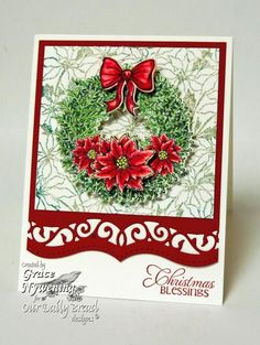 Christmas Blessings! by scrappigramma2 - Cards and Paper Crafts at Splitcoaststampers