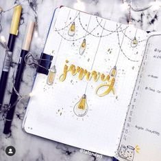 January Bullet Journal Inspiration - Rae's Daily Page Bullet Journal Cover Ideas, January Bullet Journal, Bullet Journal Notebook, Bullet Journal School, Bullet Journal Layout, Journal Covers, Bullet Journal Inspiration, Bullet Journals, Kalender Design