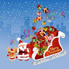 クリスマス、プレゼント、サンタクロース、  / HDの壁紙、背景