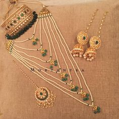 One more for a pakistani bride #bridaljewellery #mortantra #mortantrabride #pakistanibride #pakistanjjewellery #indianjewellery