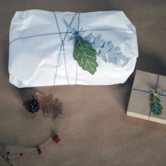 These DIY Felt Leaf Gift Trimmings from @hsmithjones are an easy and cost effective way to make your gifts feel special. Check out the tutorial!