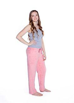 76708121b0 Big Feet Pjs Pink Plush Pajama Pants XL    See this great product. Pajama
