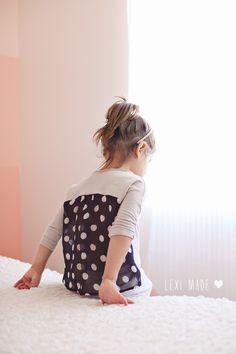 Easy Chiffon Back Top by Lexi Made for Sewing Rabbit