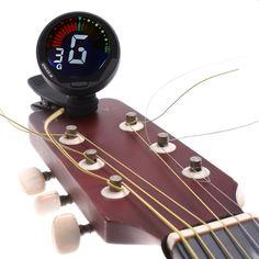 Mini digital  Auto clip-on  Chromatic Guitar Bass Violin Ukulele Tuner