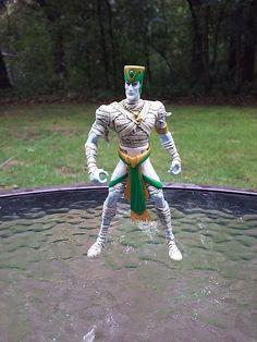 "Mummies Alive Fighting Wizard Rath Figure 5"" Action Figure Hasbro 1997   #Kenner"