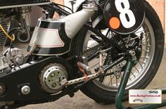 RacingVincent - My Bikes - Picture Gallery Custom Motorcycles, Cars And Motorcycles, Norton Manx, Norton Motorcycle, Vintage Bikes, Motorbikes, Garden Gate, Gallery, Pictures