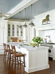 Tell us! What do you like best about this classic lakeside kitchen?
