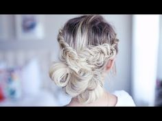 Fancy Fishtail Updo | Homecoming Hairstyle | Cute Girls Hairstyles - YouTube