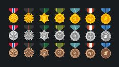Elevate your workflow with ICON Kit asset from Layer Lab. Find this & other great options on the Unity Asset Store. Military Honors, Badge Icon, 3d Icons, Layout Inspiration, Website Template, Unity, Pop Art, Bronze, Concept