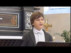 David Cizner, video, sings I know that my Redeemer liveth
