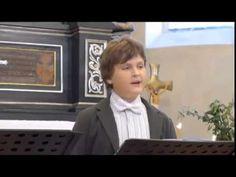 David Cizner, video, sings I know that my Redeemer liveth