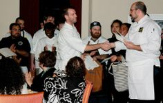 Honoring the Great Chefs who worked with Students during the James Beard Dinner - Academic Bistro