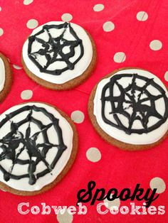 Cobweb cookies recipe