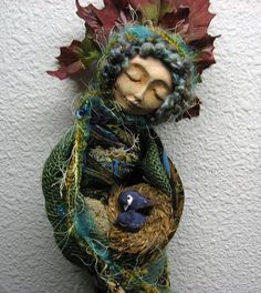 Moon Enchantment. Bohemian Spirit assemblage mixed by awesomeart, $125.00