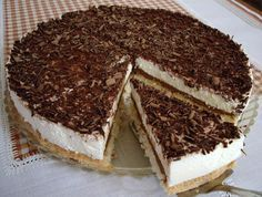 Čokoládový dort s tvarohovým krémem   Nejkrásnější Dorty