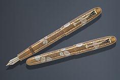 Namiki Yukari Royale Golden Rose LE Pens